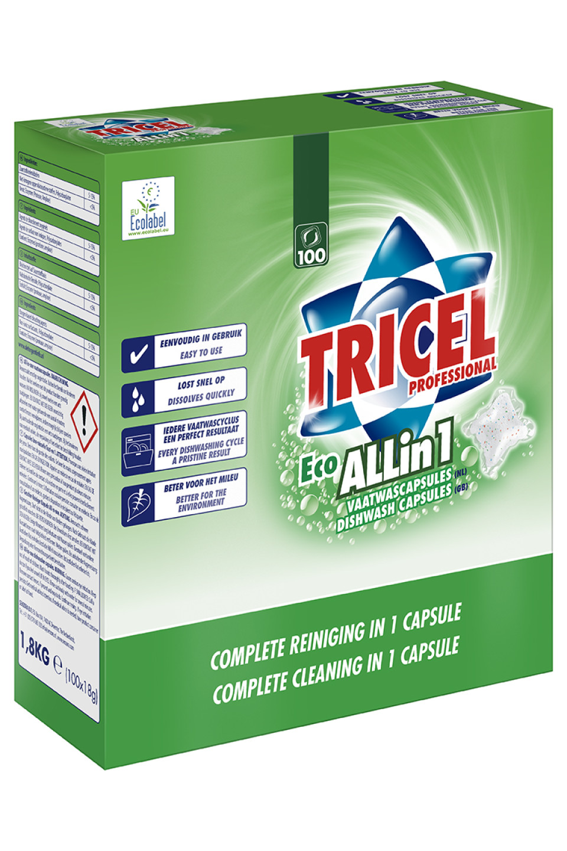 Tricel dishwash capsules