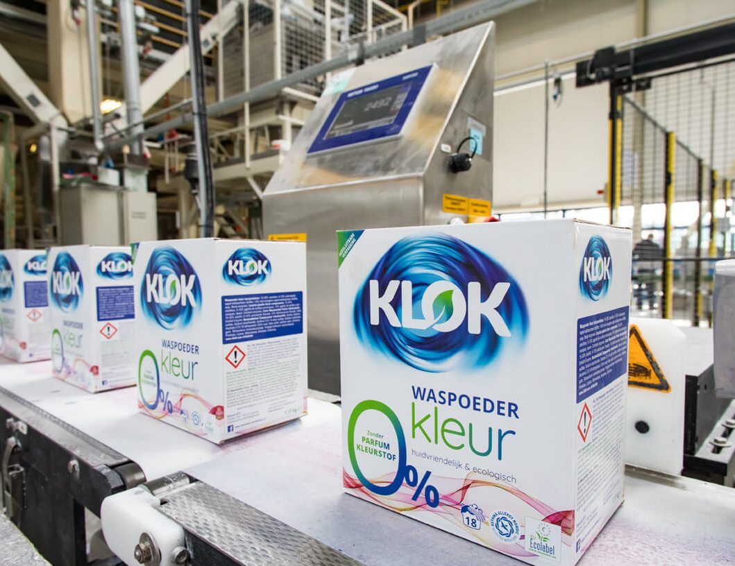 productie Klok