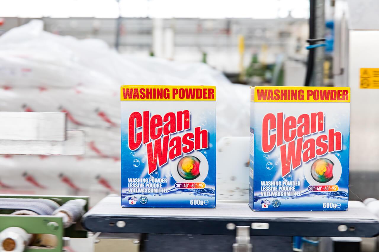 Productie Clean Wash