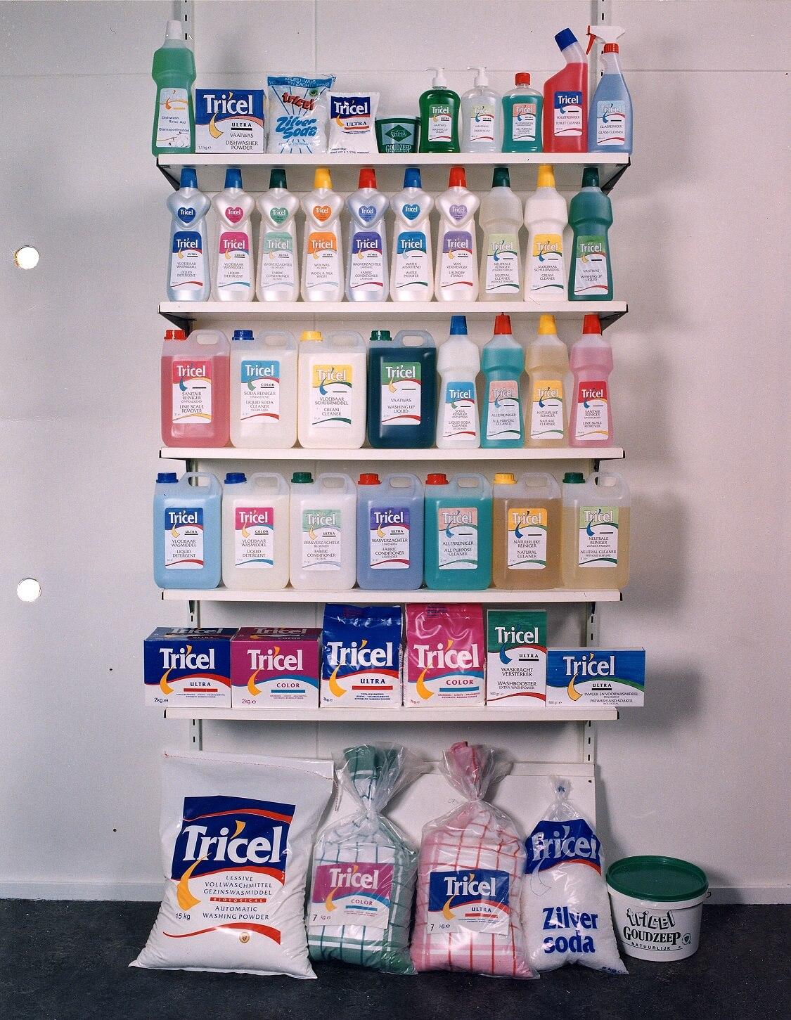 Tricel wasmiddelen