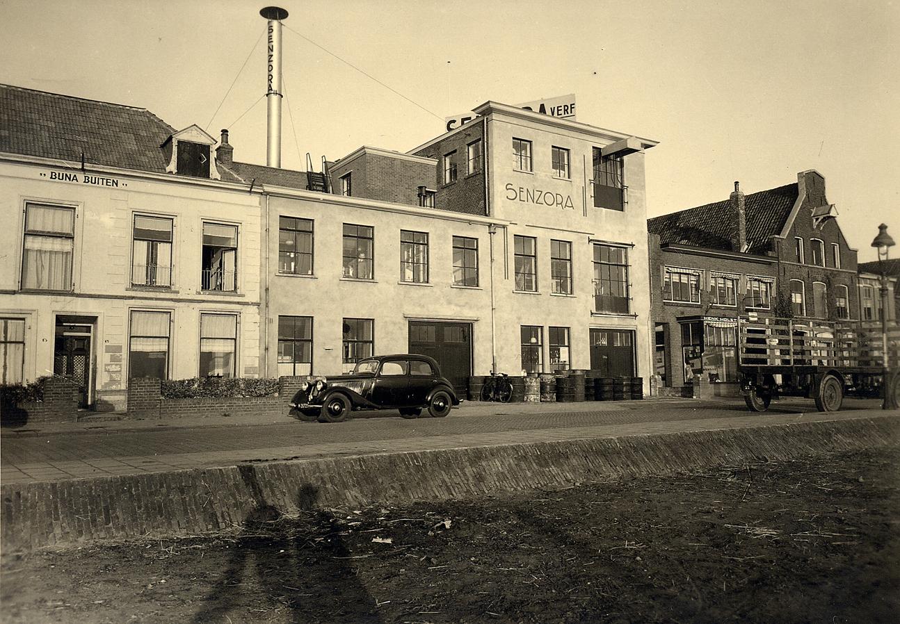 Senzora verf fabriek